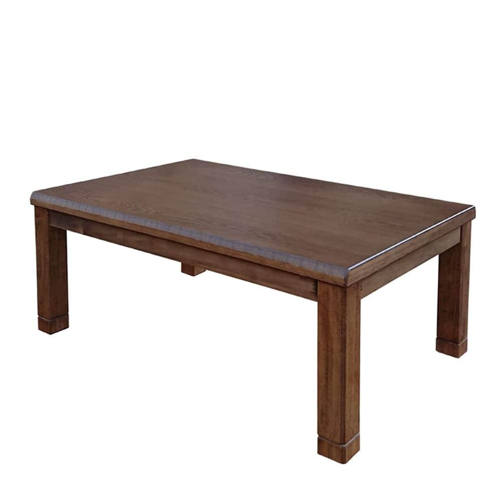 ヒーターレスこたつ オータム105:【高さ調節できる】座卓です。