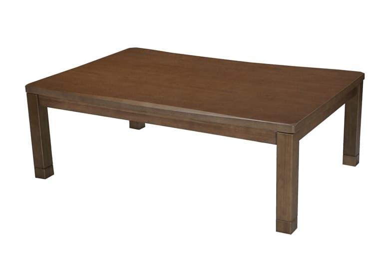 暖卓 もくれん:天然木同様の美しい仕上がりです。