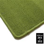 パイル丸巻きカーペット6帖 グリーン