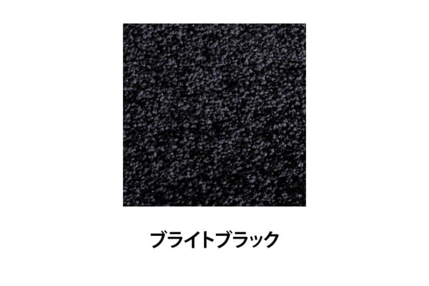 ラグ ジェイド 190×240(ブライトブラック)