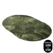 ラグ Fラルジュ 楕円100x150 GN