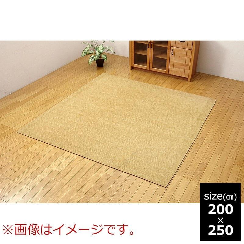 ラグ Fモデルノ BE 200x250:《選べる7色展開でお部屋に合ったお色を選べます》