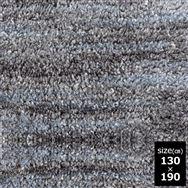 ひんやりラグ スーパークールストリーム 130×190 ダークグレー
