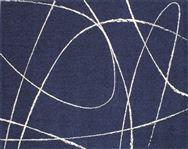 ジーン 130×190 ダークブルー