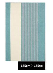 クリム 185×185 ブルー