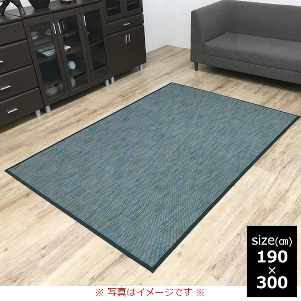 竹ラグ DXフォース 190×300 GN