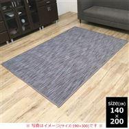 竹ラグ DXフォース 140×200 GY