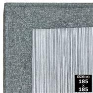 ファブリックラグ 冷感マーズ GY 185×185
