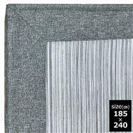 ファブリックラグ 冷感マーズ GY 185×240