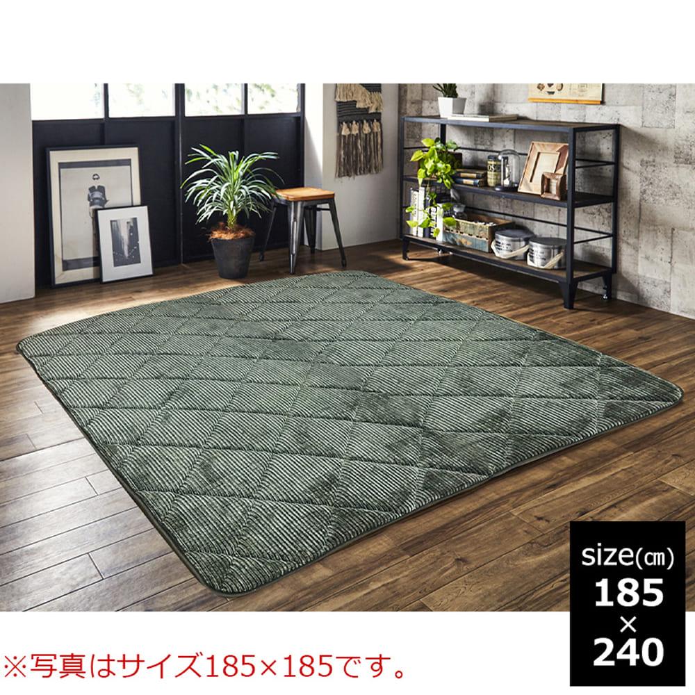 グランド GN 185x240:◆超ふかふか床でくつろぎたい人専用ラグ