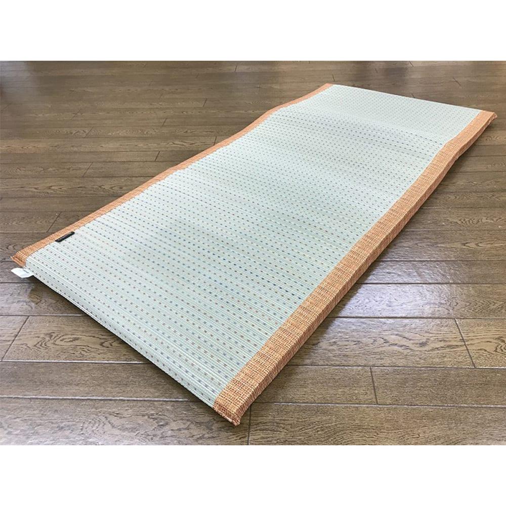 い草 クリア 70×150 OR:さらっと快適、い草素材