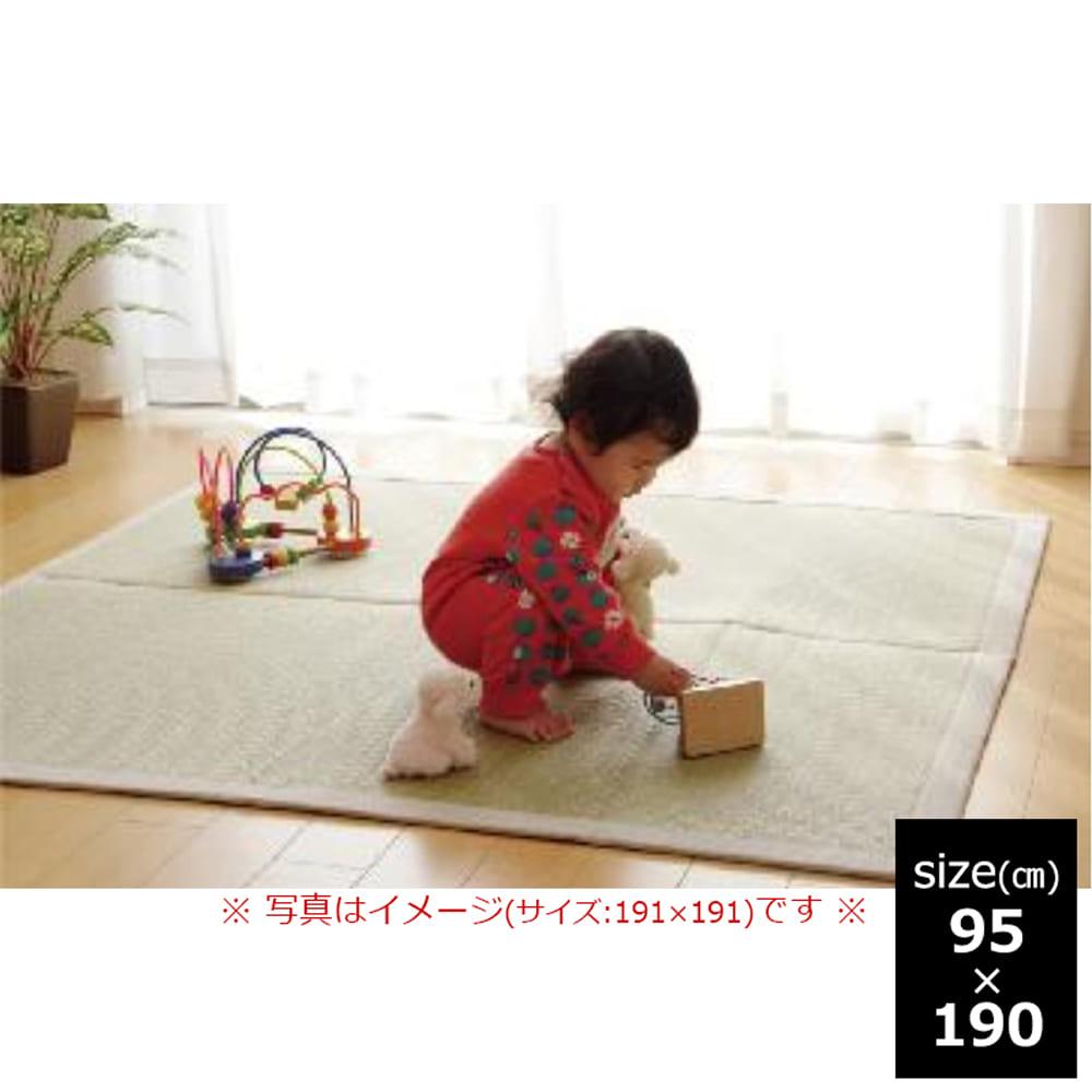 い草ラグ F 無垢 95×190 NA:MadeinJapan安心安全日本のい草を使ってます