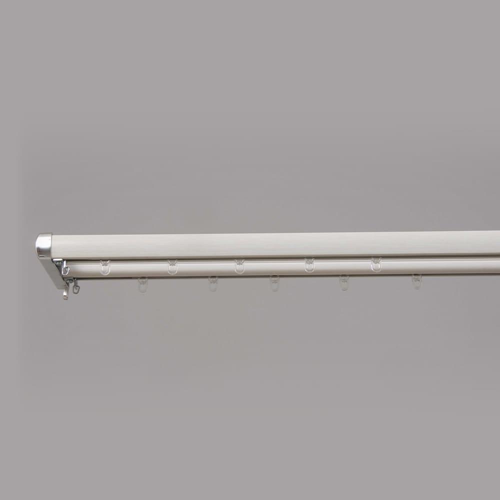 装飾レール ロアール 木目ホワイト 2mダブル:装飾レール ロアール 木目ミディアム 2mダブル