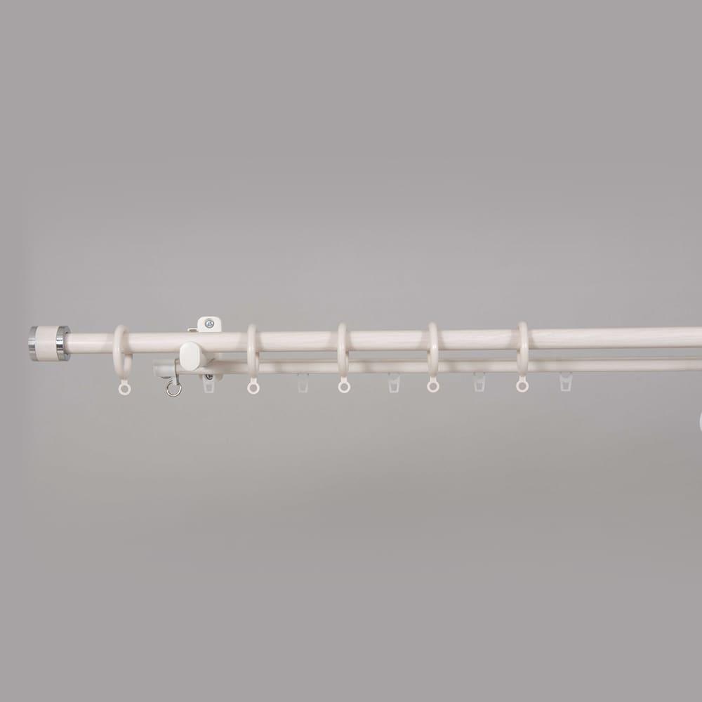 装飾レール フェスタ 木目ホワイト 3mダブル:装飾レール フェスタ 木目ホワイト 3mダブル