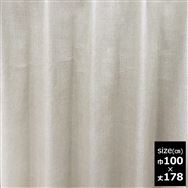 ドレープカーテン【2枚組】スロア裏付き 100×178 IV