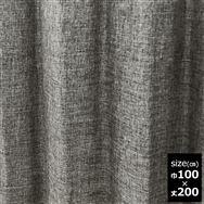 ドレープカーテン【2枚組】スロア裏付き 100×200 GR