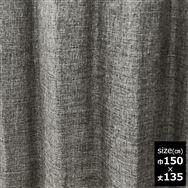 ドレープカーテン【2枚組】スロア裏付き 150×135 GR