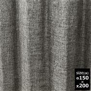 ドレープカーテン【2枚組】スロア裏付き 150×200 GR