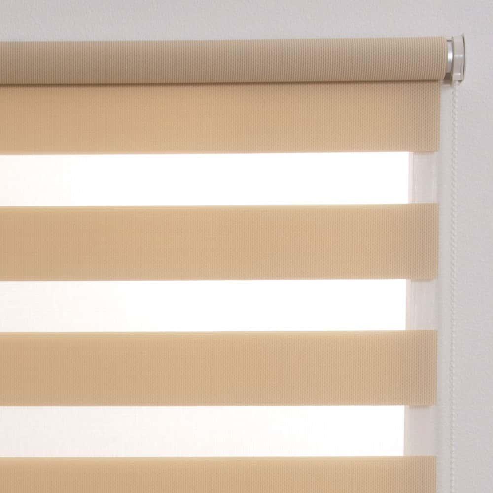 調光ロール ゼブライト60×190ベージュ:調光ロールスクリーン ゼブライト 60×190 ベージュ