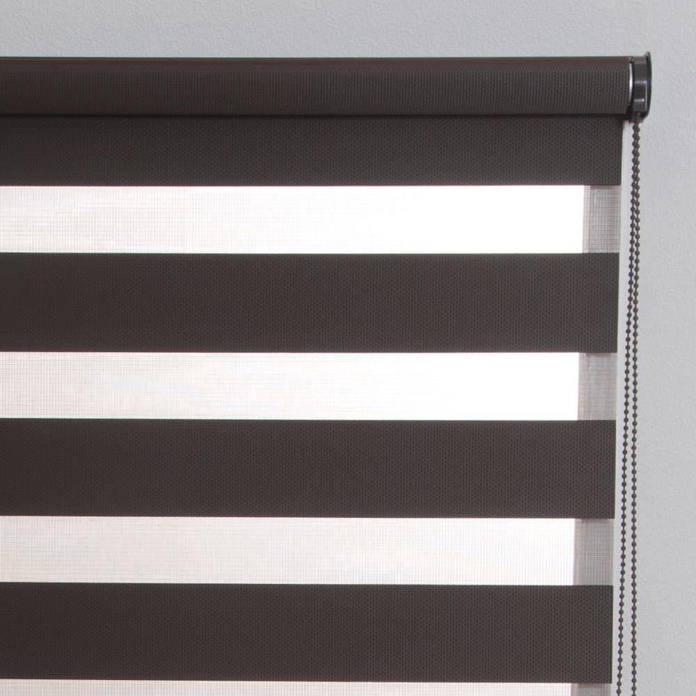 調光ロール ゼブライト180×190ブラウン:調光ロールスクリーン ゼブライト 180×190 ブラウン