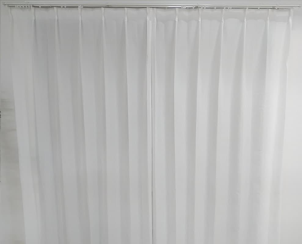 レースカーテン ミーナ WH 100×176 【2枚組】