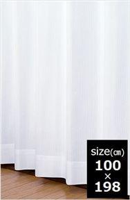 レースカーテン ミーナ WH 100×198 【2枚組】