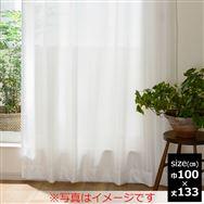レース ウェーブレース ホワイト 100X133 【2枚組】
