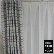 ドレープカーテン【2枚組】コルソ 100×200 YE