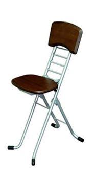 折りたたみ椅子 CSS−330AD (ダークブラウン)