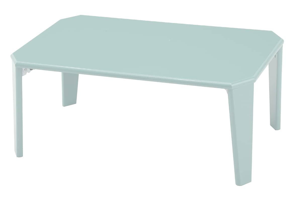 鏡面折りたたみテーブル 20−151 CGYシアングレー