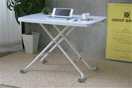 昇降テーブル LT−キュート 脚ホワイト (脚ホワイト)