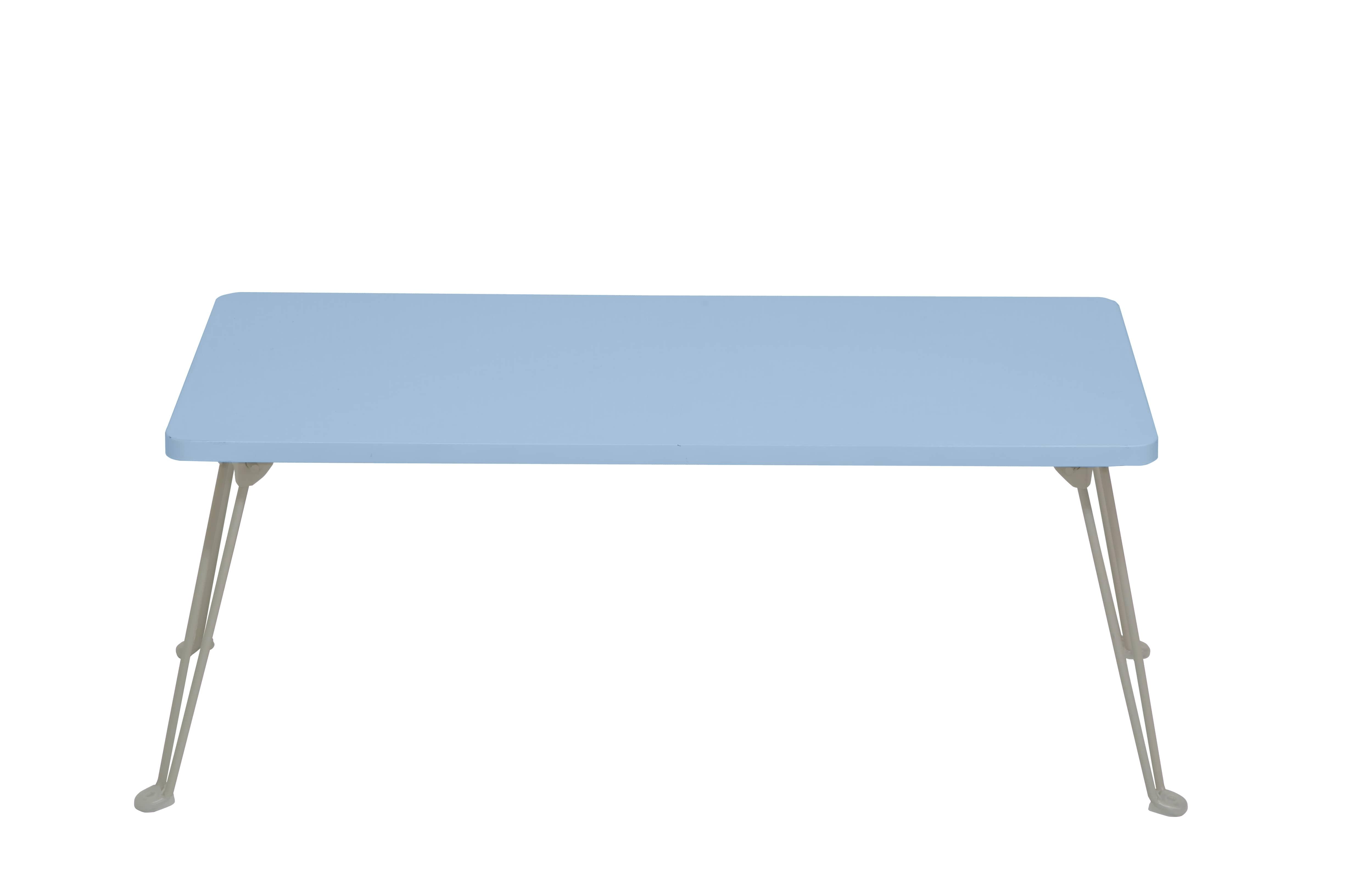 シンプルテーブル PUT−8040 PBL (パステルブルー)