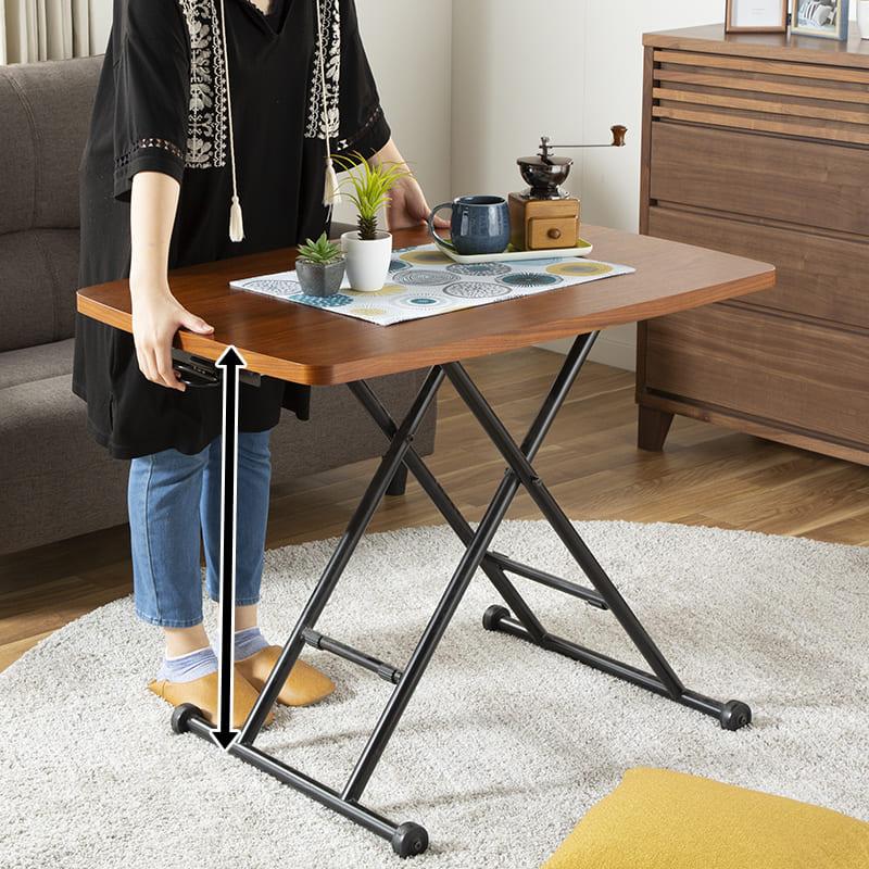 :昇降式テーブル
