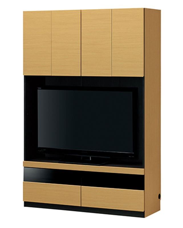壁面テレビボード ポルターレ POR−1812TV NA:壁面テレビボード ※小物類はイメージです