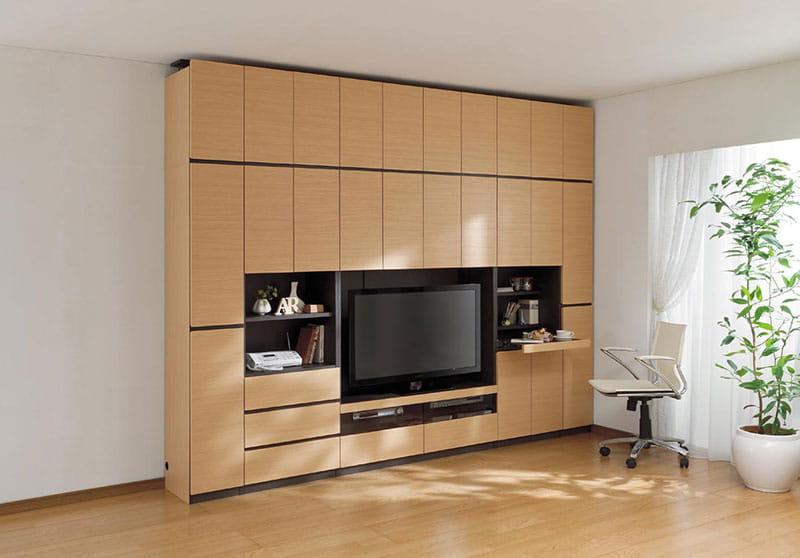 壁面テレビボード ポルターレ POR−1812TV WH
