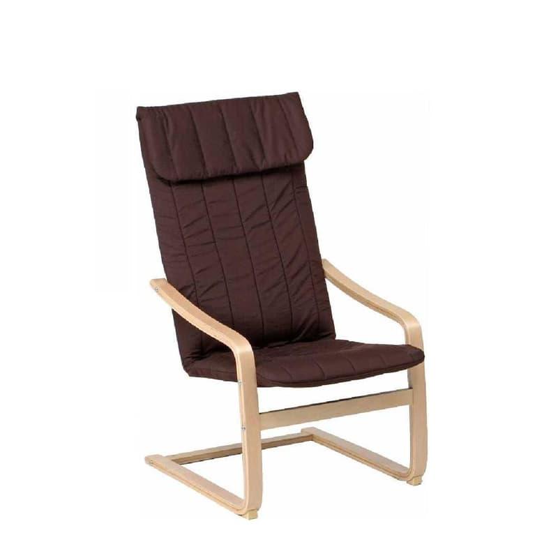 リラックスチェアー スリム ブラウン:◆シンプル&カジュアルなデザインが魅力のリラックスチェアです