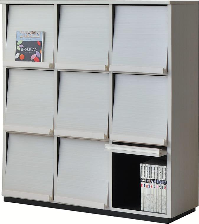 リビング収納 ウォルフィット WF−1212DP WHホワイト:リビング収納