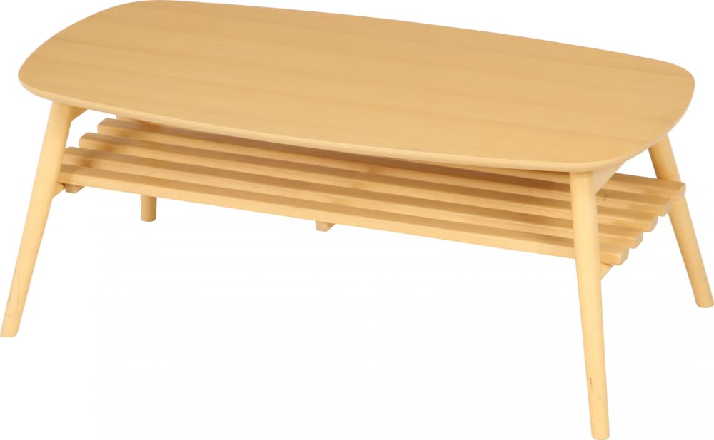 折れ脚センターテーブル ノルン 96351 ナチュラル