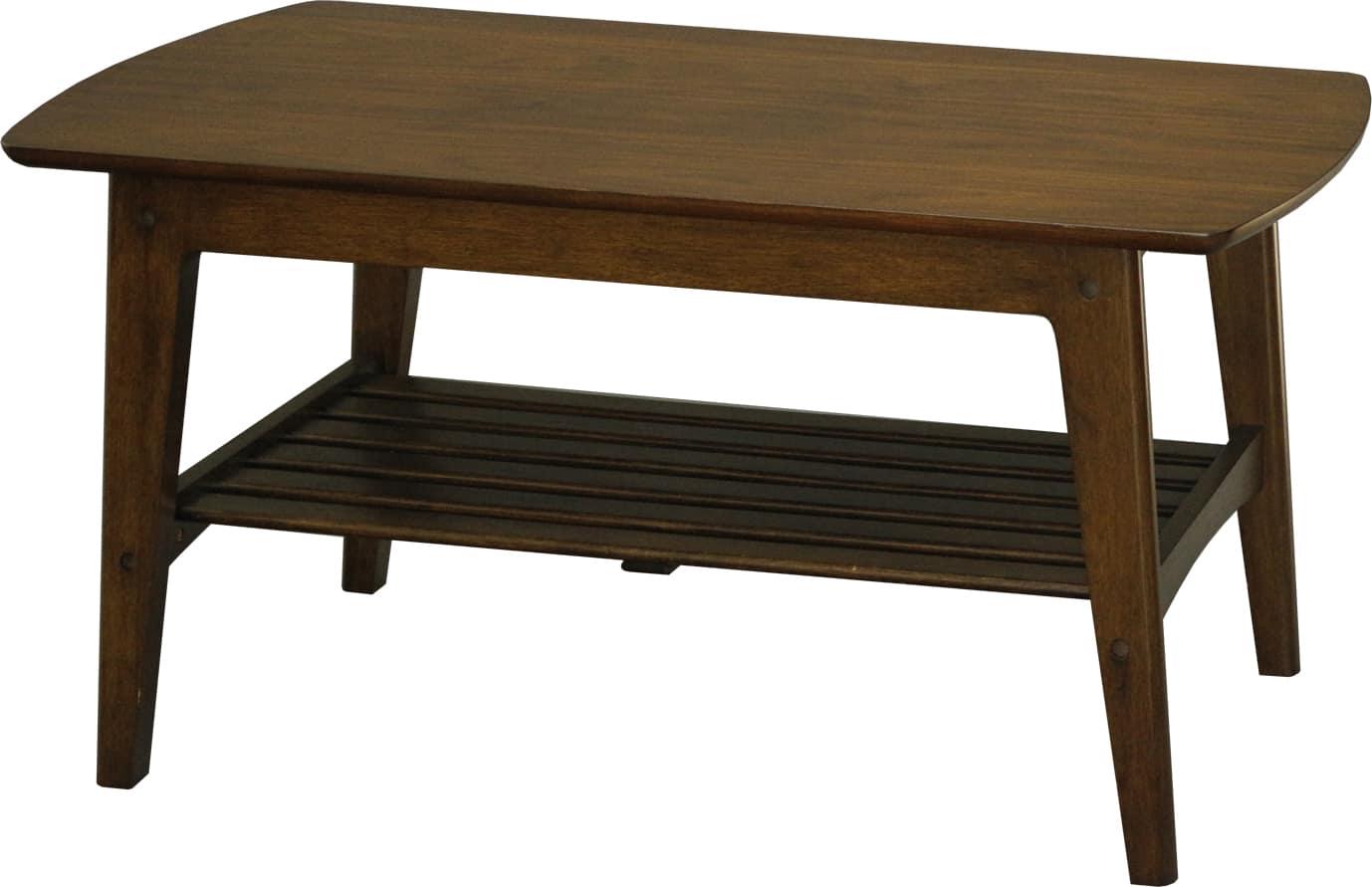 ロージー センターテーブル105幅 (BR):センターテーブル