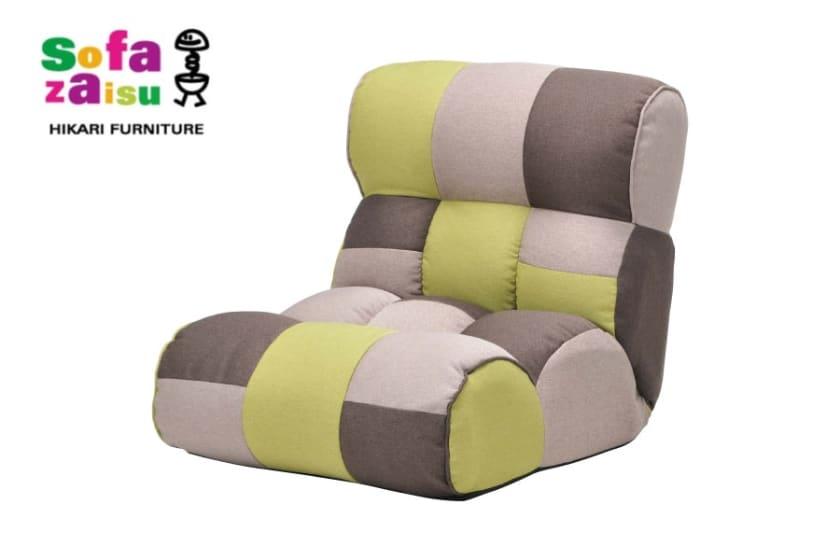 1人掛けソファ ピグレット ジュニア(フォレスト):ソファーみたいな座椅子で人気のピグレットシリーズ