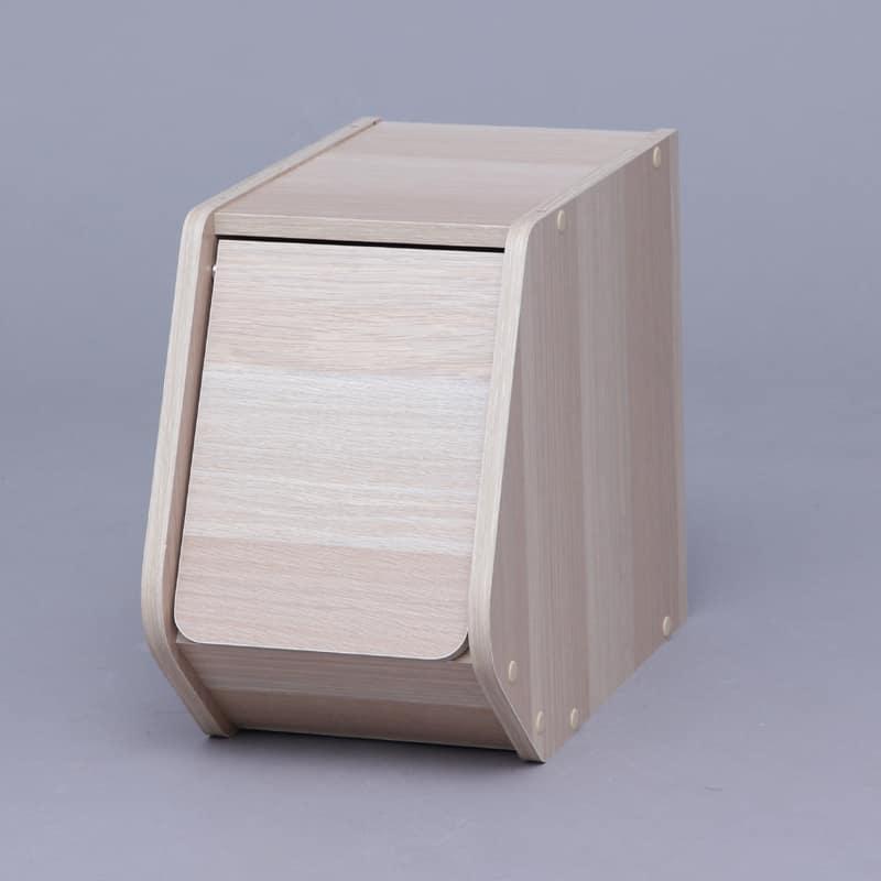 スタックボックス 扉付き STB−200D ナチュ