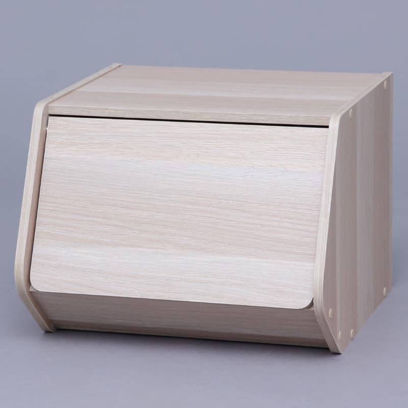スタックボックス 扉付き STB−400D ナチュ