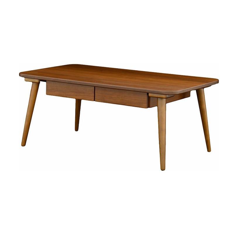 セレノ引出付テーブル VT4090HT DBR:引き出し付きテーブル