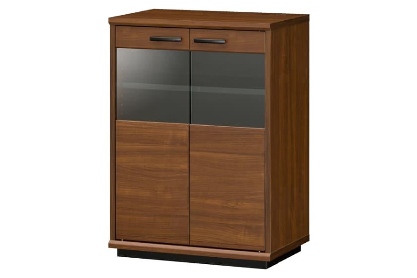 サイドキャビネット ブランシェイド BLS-8055G(ブラウン):ブラウンの木目調カラーが落ち着いた温かみのあるスタイル