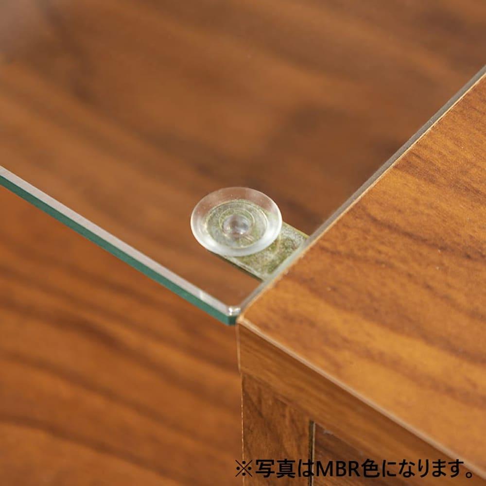 :ガラス部分滑り止め付き