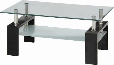 センターテーブル フォーカス ブラック