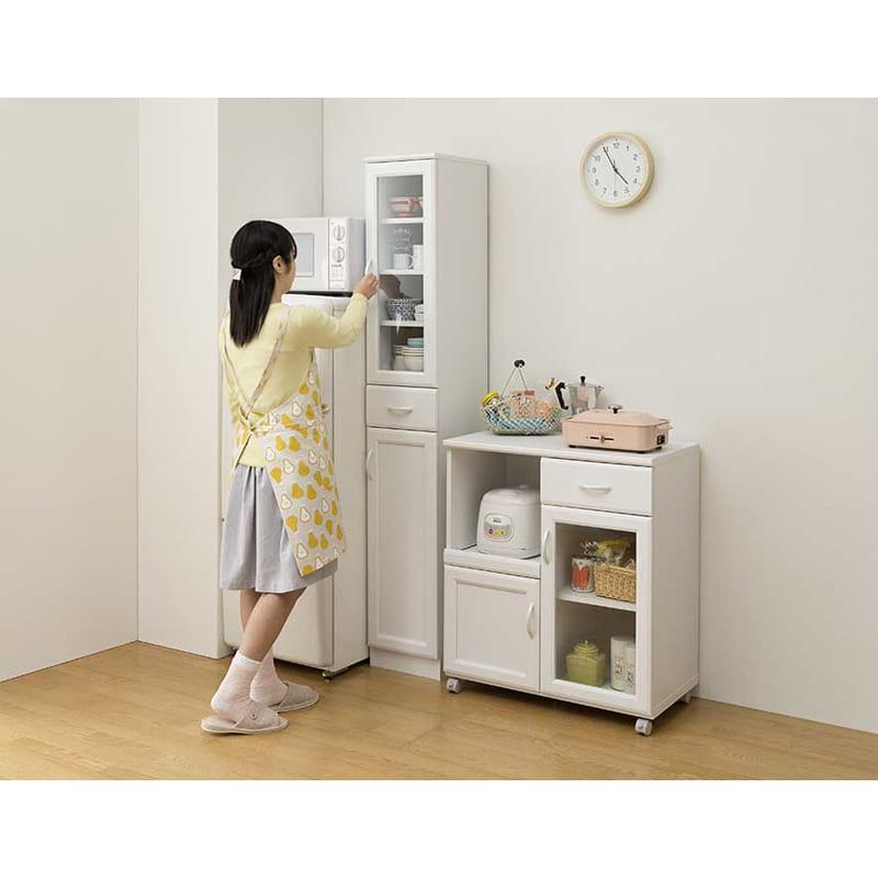 食器棚 セシルナ CEC-1840DGH