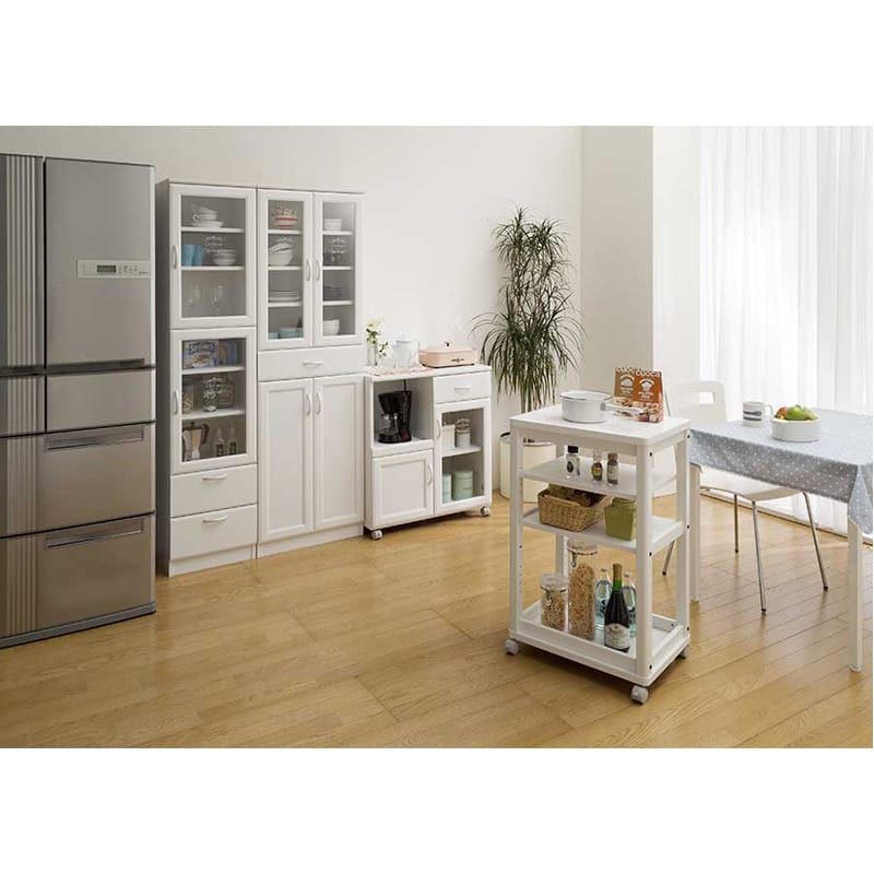食器棚 セシルナ CEC-1855DGH F