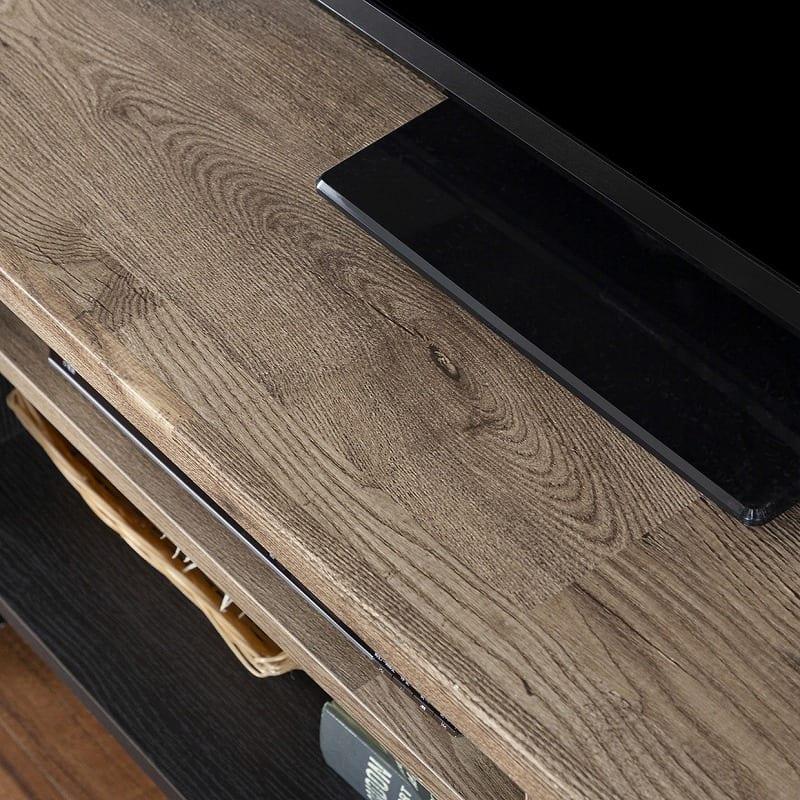 :木目調デザインの天板