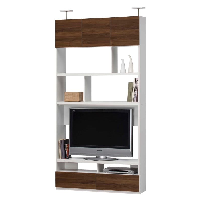 壁面テレビボード リビュアル LVA-2412TV DK:壁面テレビボード  ※小物類はイメージです。